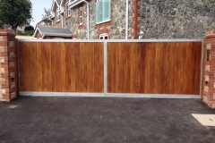 Steel Electric Gates Exeter