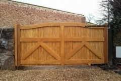 Electric sliding Gates South Devon